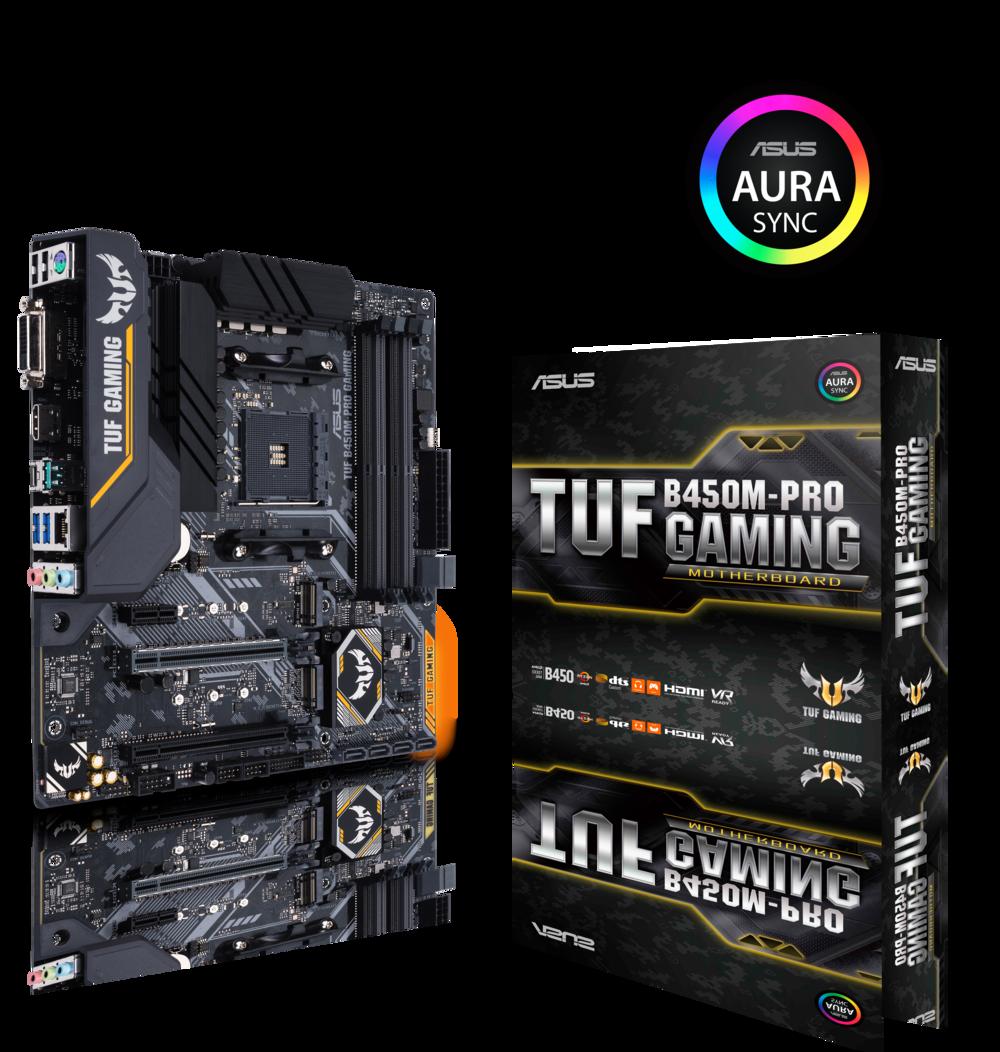 ASUS TUF B450M-Pro Gaming Mainboard Sockel AM4