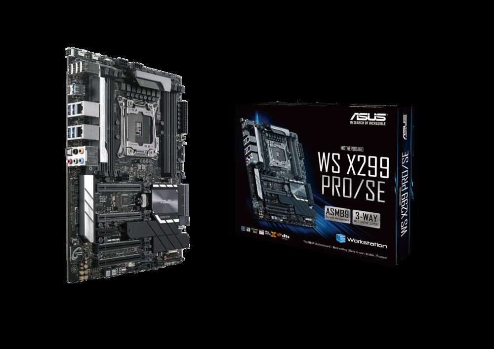 ASUS WS X299 PRO/SE Workstation Mainboard Sockel 2066