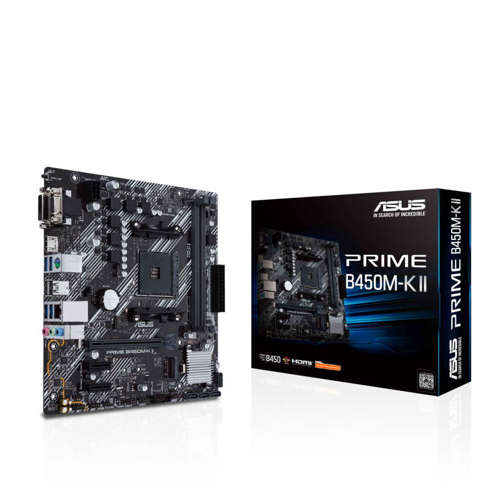Asus Prime B450M-K II Mainboard Sockel AM4