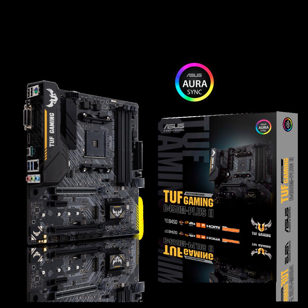 Asus TUF Gaming B450M-Plus II Mainboard Sockel AM4