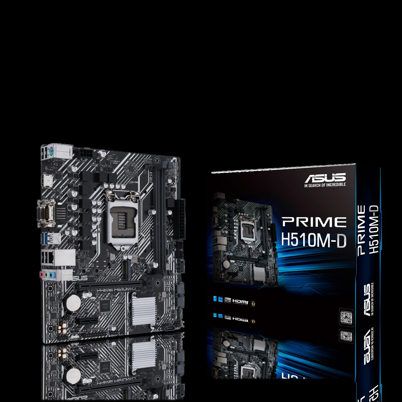 ASUS Prime H510M-D Gaming Mainboard Sockel Intel LGA1200