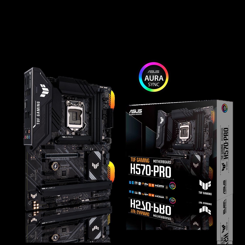 ASUS TUF Gaming H570-Pro Mainboard Sockel Intel LGA 1200