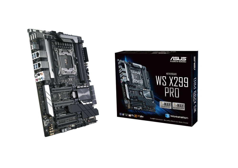 ASUS WS X299 PRO Workstation Mainboard Sockel 2066