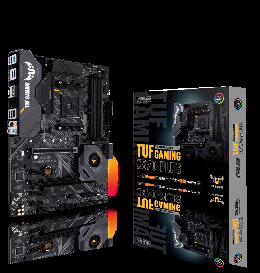 ASUS TUF Gaming X570-Plus Mainboard Sockel AM4