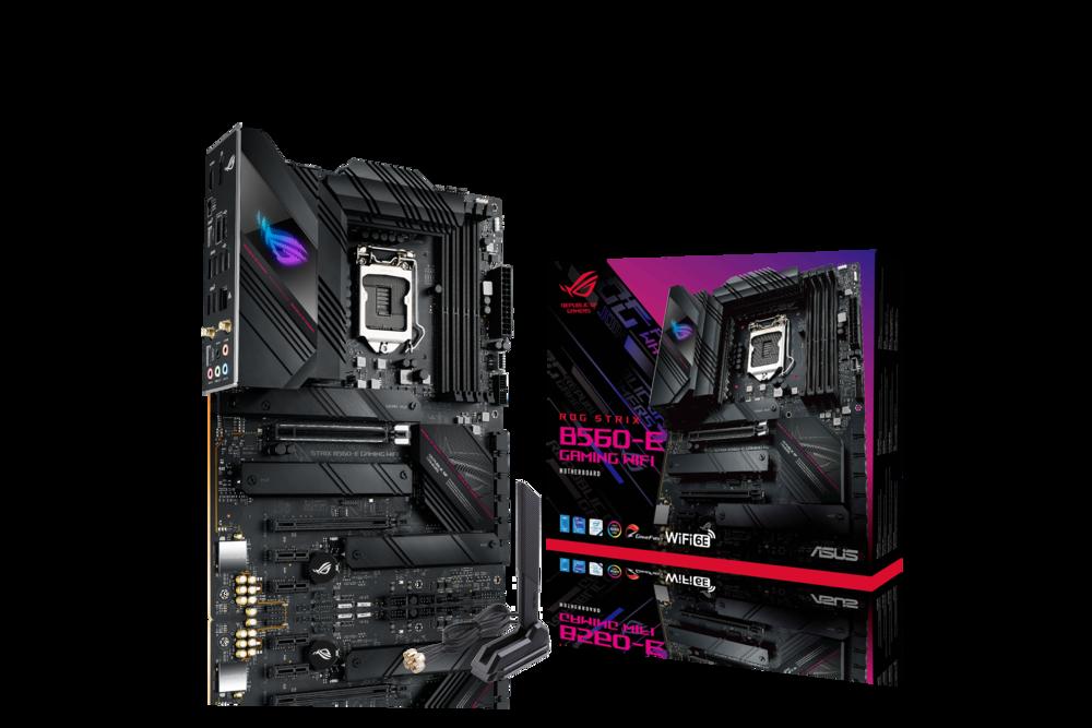 ASUS ROG STRIX B560-E GAMING WIFI Mainboard Sockel Intel LGA 1200