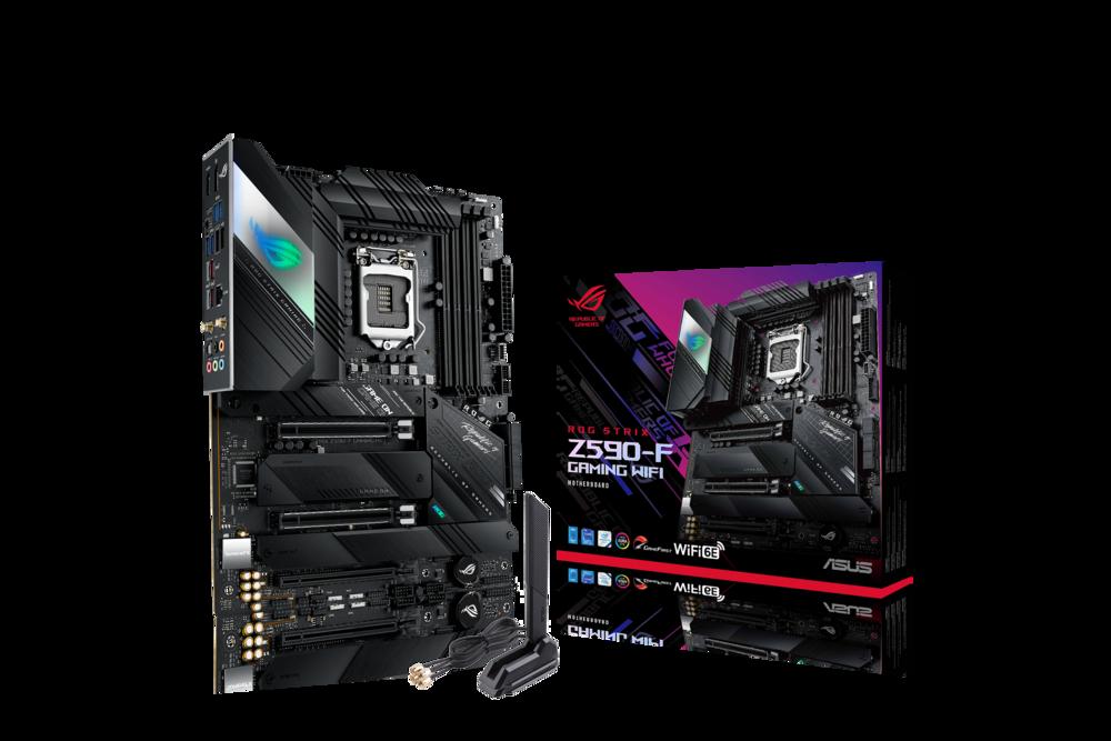 ASUS ROG Strix Z590-F Gaming WiFi Mainboard Sockel Intel LGA 1200