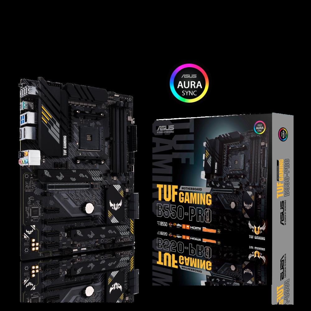 ASUS TUF Gaming B550-Pro Mainboard Sockel AMD Ryzen AM4
