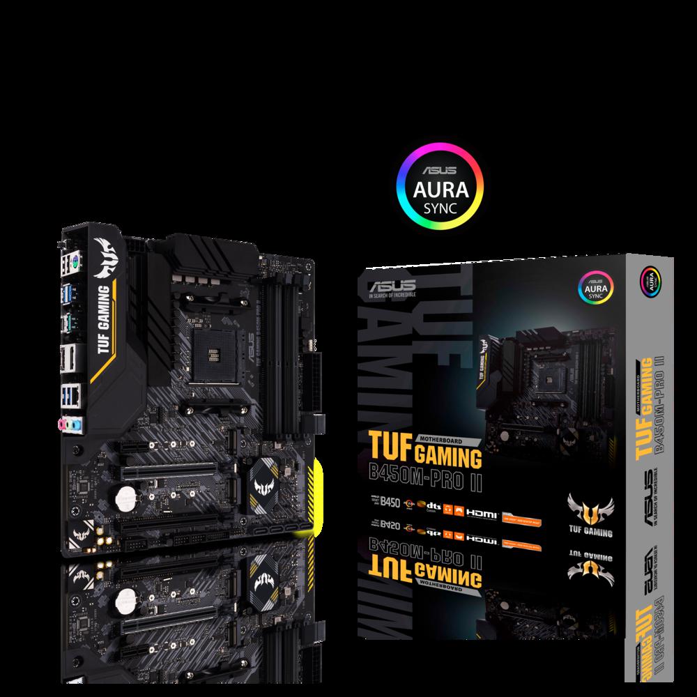 Asus TUF Gaming B450M-Pro II Mainboard Sockel AM4