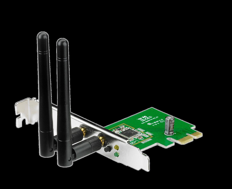 ASUS PCE-N15 N300 Wi-Fi PCIe-Karte