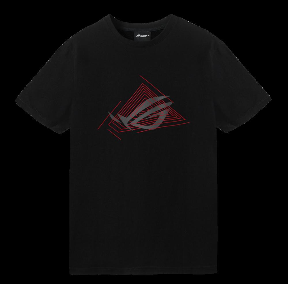 """ASUS ROG Gaming T-Shirt """"Triangle"""""""
