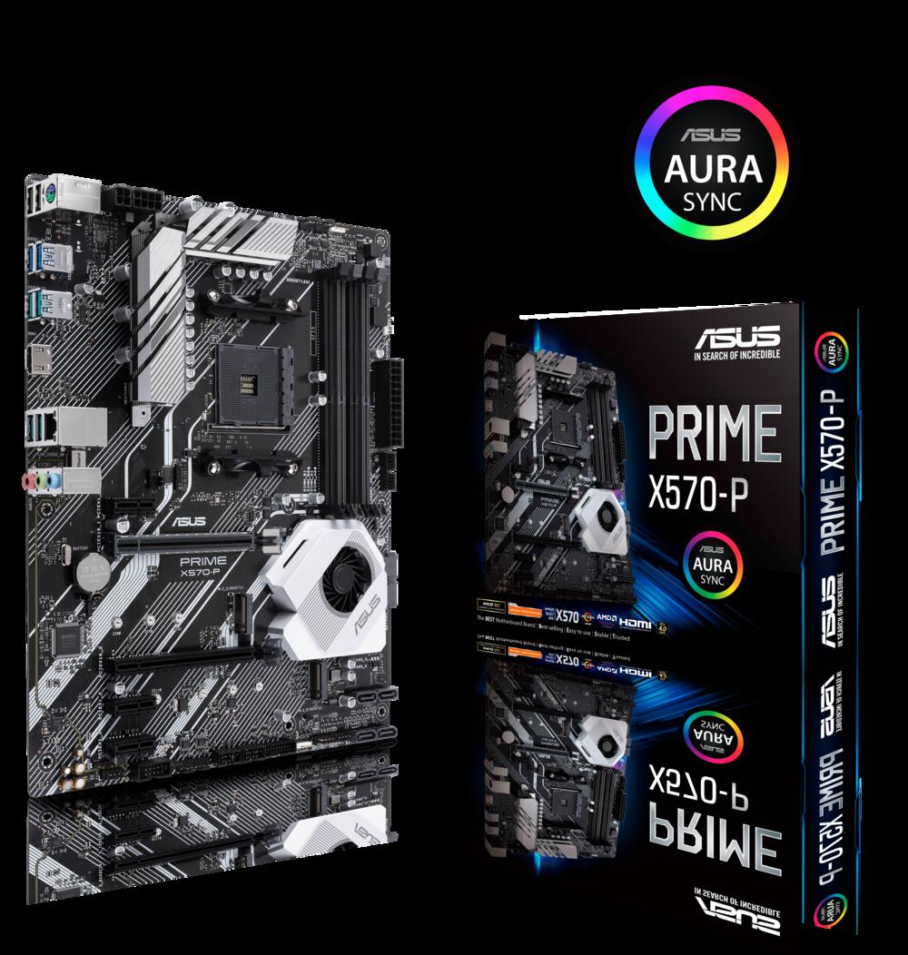 ASUS Prime X570-P Mainboard Sockel AM4