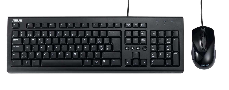 ASUS U2000 Set Tastatur und Optische Maus
