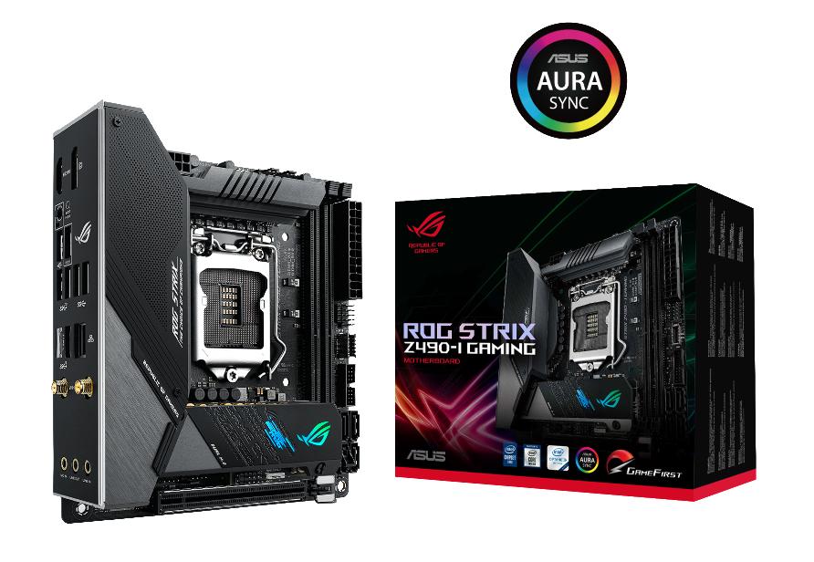ASUS ROG Strix Z490-I Gaming Mainboard Sockel 1200