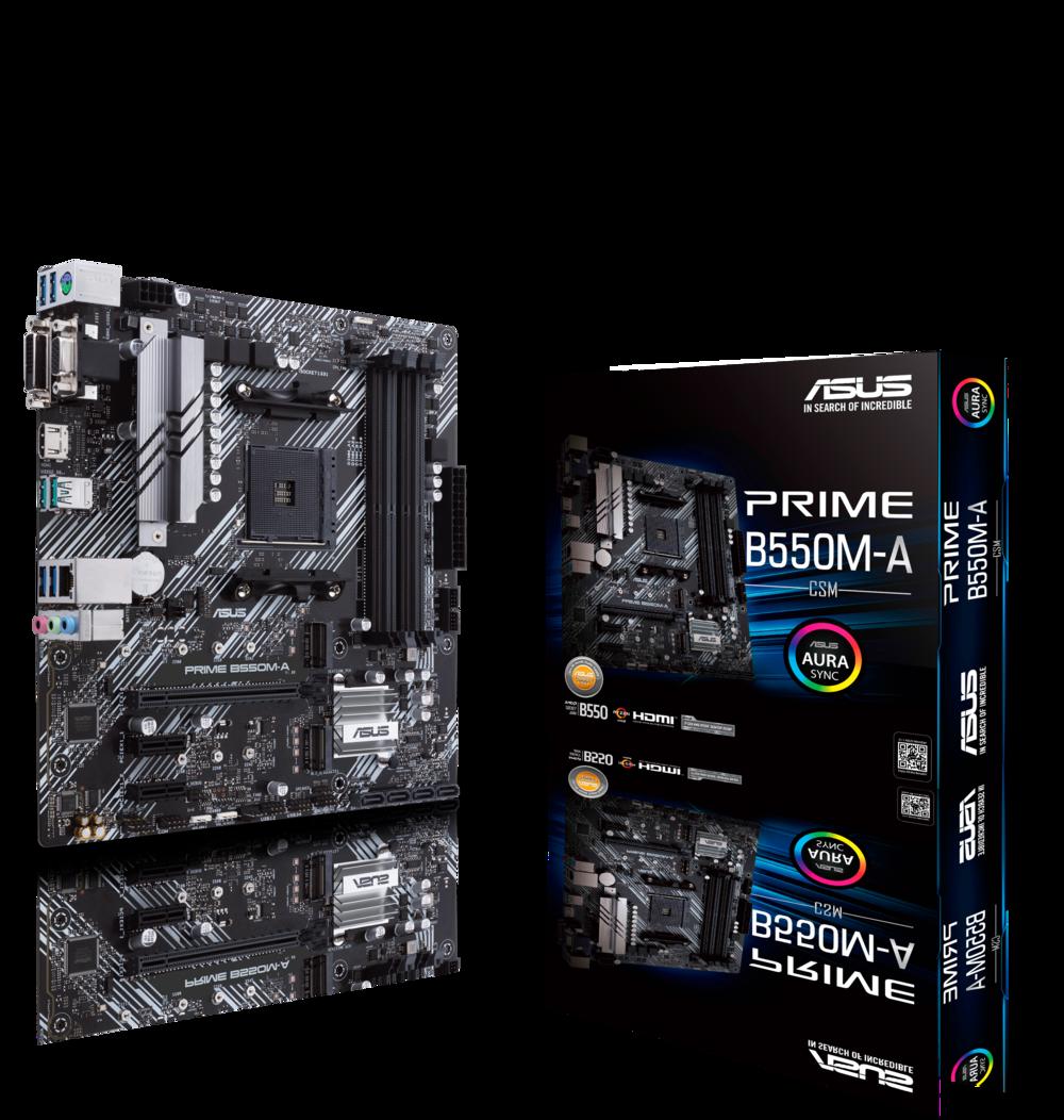 ASUS Prime B550M-A CSM Mainboard Sockel AM4