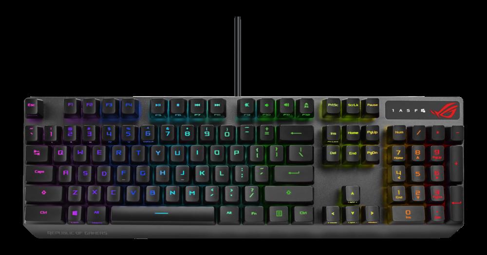 ASUS ROG Strix Scope RX optische Gaming Tastatur