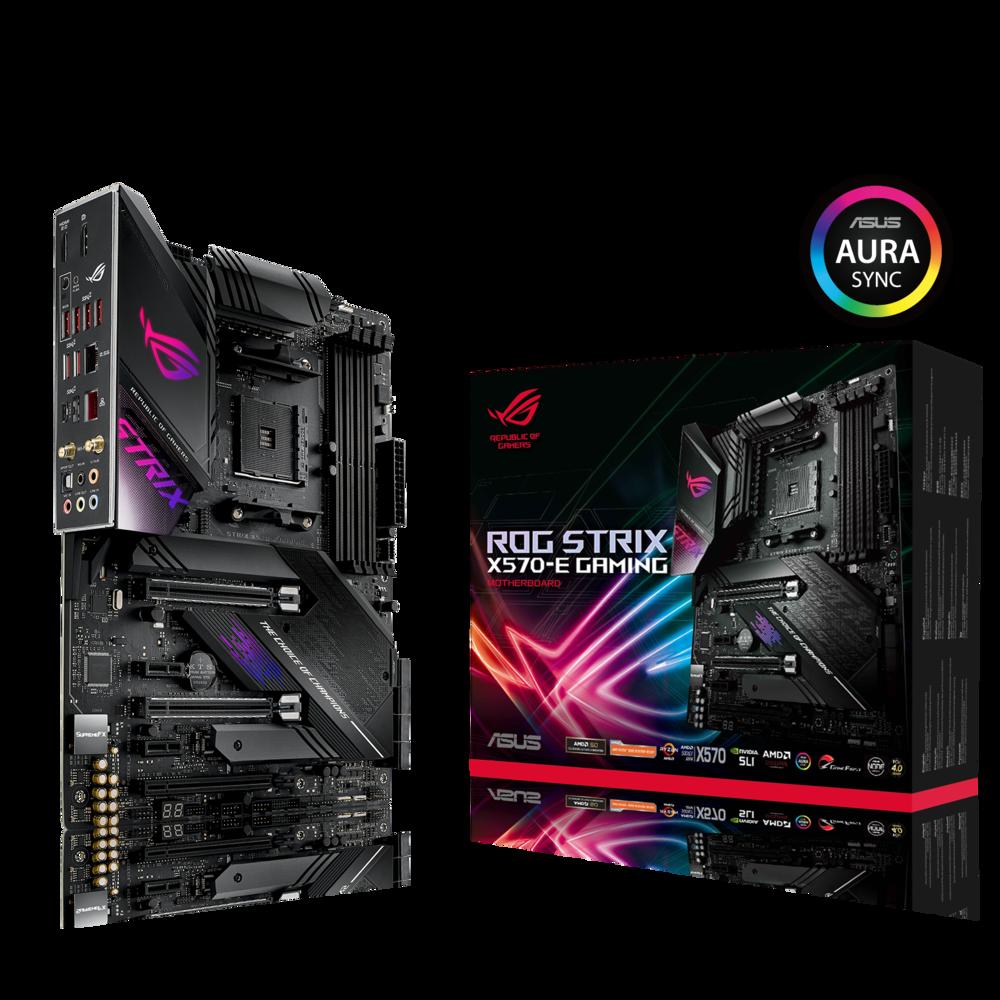 ASUS ROG Strix X570-E Gaming Mainboard Sockel AM4