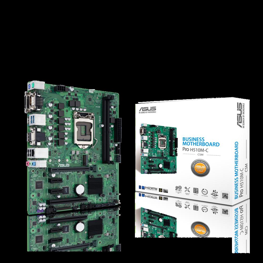 ASUS Pro H510M-C/CSM Business Mainboard Sockel Intel LGA 1200